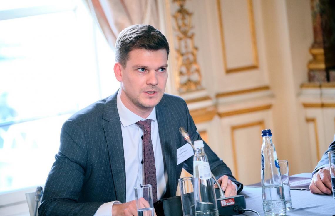 Tarptautinės migracijos organizacijos Vilniaus biurui vadovaus E.Bingelis