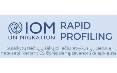 TMO Vilniaus biuras kviečia susipažinti su Rapid profiling misijos rezultatais