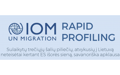 IOM Vilnius office showcases results of a rapid profiling mission