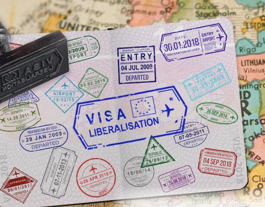 Vizų režimo liberalizavimo poveikis paskirties šalims - 2019 m. (EN)